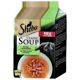 SHEBA Katzen Nassfutter »Classic Soup«, 12 Beutel à 1920 g