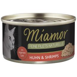 MIAMOR Katzen Nassfutter »Feine Filets«, 24 Dosen à 80 g