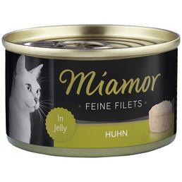 MIAMOR Katzen Nassfutter »Feine Filets in Jelly«, Huhn, 24x100 g