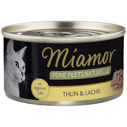 MIAMOR Katzen Nassfutter »Feine Filets Naturelle«, 24 Stück à 80 g