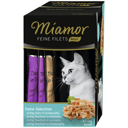 MIAMOR Katzen Nassfutter »Feine Selection «, 4 Packungen à 1600 g