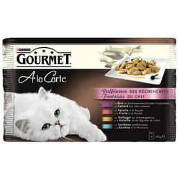 PURINA Katzen Nassfutter »Gourmet a la Carte«, 12 Kartons à 4080 g