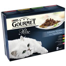 PURINA Katzen Nassfutter »Gourmet Perle - Erlesene Streifen«, 10 Beutel à 6800 g