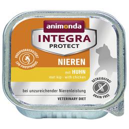animondo Katzen Nassfutter »Integra Protect «, Huhn, 16x100 g