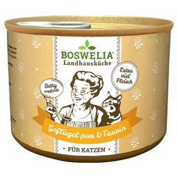BOSWELIA Katzen Nassfutter »Landhausküche«, 6 Dosen à 200 g