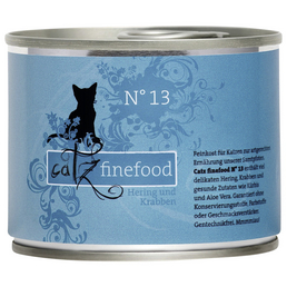 catz finefood Katzen Nassfutter »N° 13«, 6 Dosen à 200 g