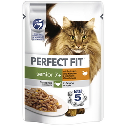 PERFECT FIT™ Katzen-Nassfutter »Perfect Fit«, 12 Beutel