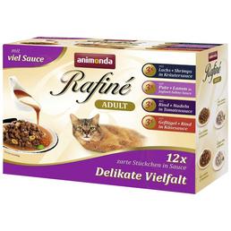 ANIMONDA Katzen Nassfutter »Rafiné«, Mix, 4x1,2 kg