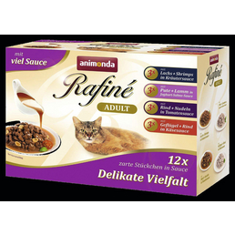 animondo Katzen Nassfutter »Rafiné«, Mix, 4x1,2 kg