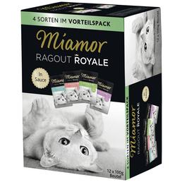 MIAMOR Katzen Nassfutter »Ragout Royale«, 4 Packungen à 4800 g