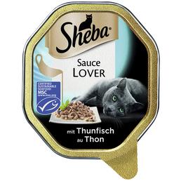 SHEBA Katzen Nassfutter »Sauce Lover«, 22 Schalen à 85 g