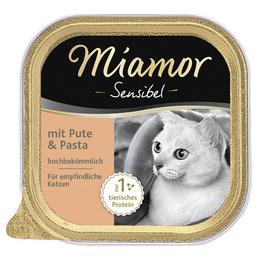 MIAMOR Katzen Nassfutter »Sensible«, 16 Stück à 100 g