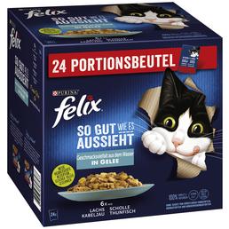 FELIX Katzen Nassfutter »So gut wie es aussieht «, 4 Kartons  à 8160 g
