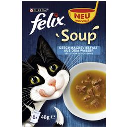 FELIX Katzen Nassfutter »Soup«, 8 Stück à 2300 g