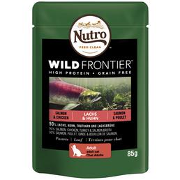 NUTRO Katzen Nassfutter »Wild Frontier«, 24 Packungen à 85 g