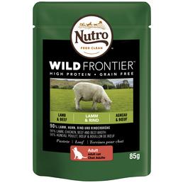 NUTRO Katzen Nassfutter »Wild Frontier«, Lamm / Rind, 24x85 g