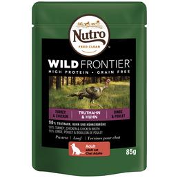 NUTRO Katzen Nassfutter »Wild Frontier«, Truthahn / Huhn, 24x85 g