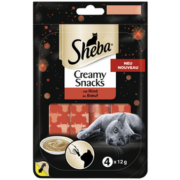 SHEBA Katzensnack »Creamy Snacks«, 20 Packungen à 960 g