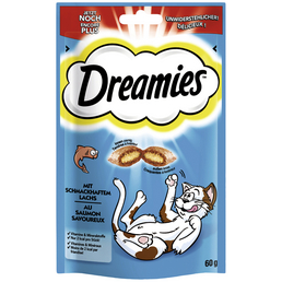 DREAMIES Katzensnack »Dreamies«, Lachs, 6x60 g
