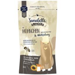 SANABELLE Katzensnack, Huhn/Milch, 55 g