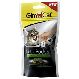 GIMCAT Katzensnack »Nutri Pockets «, Kräuter, 12x60 g