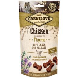 carnilove Katzensnack »Soft Snack«, 50 g, Huhn/Thymian