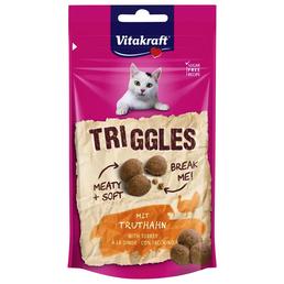 VITAKRAFT Katzensnack »Triggles «, 40 g, Truthahn