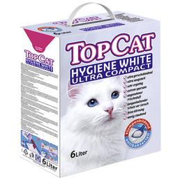 TopCat Katzenstreu »Hygiene White Ultra Compact«, 1 Packung, 5 kg