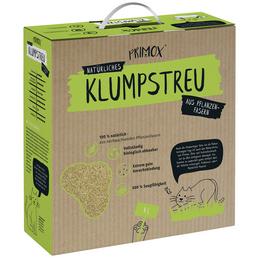 PRIMOX Katzenstreu »Klumpstreu aus Pflanzenfasern«, 1 Karton, 4,1 kg