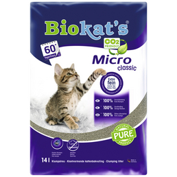BIOKAT'S Katzenstreu »Micro«, Feinkörnig