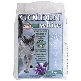 GOLDEN Katzenstreu »white«, 1 Sack, 14 kg