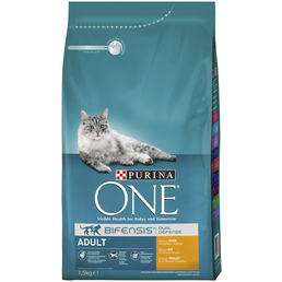 Purina ONE® Katzentrockenfutter »Adult«, Huhn, 1,5 kg