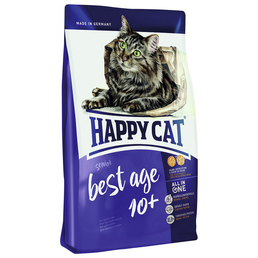 HAPPY CAT Katzentrockenfutter »Best Age«, 6 Beutel à 300 g