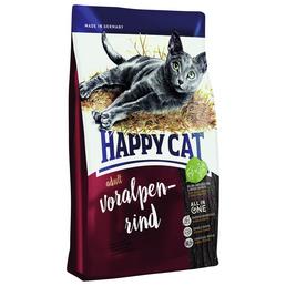 HAPPY CAT Katzentrockenfutter »Happy Cat TR Supreme Adult Rind«, 1 Sack à 10000 g