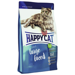 HAPPY CAT Katzentrockenfutter »Large Breed«, 1 Beutel à 4000 g