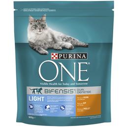 Purina ONE® Katzentrockenfutter »Light«, Huhn, 0,8 kg