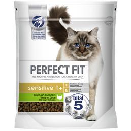 PERFECT FIT™ Katzentrockenfutter »Sensitiv 1+«, 6 Beutel
