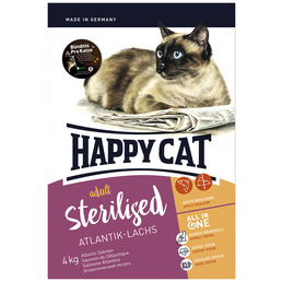 HAPPY CAT Katzentrockenfutter »Sterilized«, 1 Beutel à 4000 g