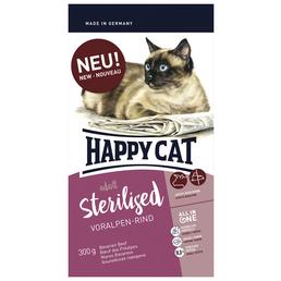 HAPPY CAT Katzentrockenfutter »Sterilized«, 6 Beutel à 300 g