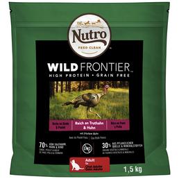 NUTRO Katzentrockenfutter »Wild Frontier«, 4 Beutel à 1500 g