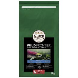 NUTRO Katzentrockenfutter »Wild Frontier«, Weißfisch / Lachs,  3x4 kg