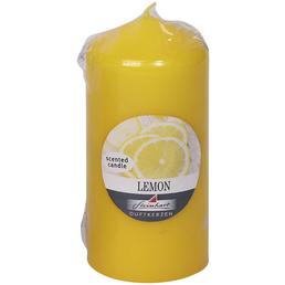 Steinhart Kerze, gelb, einfarbig, 1 Stück