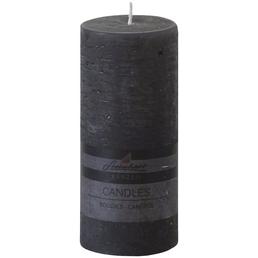 Steinhart Kerze »Raureif«, anthrazit, rustikal/einfarbig, 1 Stück