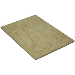 Kiefer Sperrholzplatte, 2500x1250x6 mm, Natur