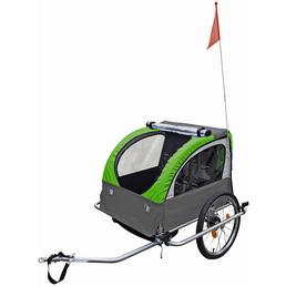FISCHER FAHRRAEDER Kinder-Fahrradanhänger, Zuladung: 23 kg