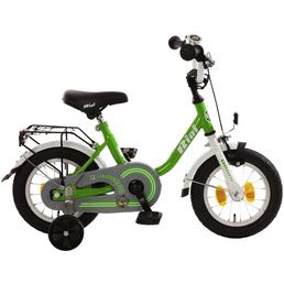 Kinderfahrrad »Bibi«, 1 Gang, U-Type Rahmen, Weiß-Grün