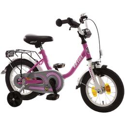 Kinderfahrrad »Bibi«, 1 Gang, U-Type Rahmen, Weiß-Pink