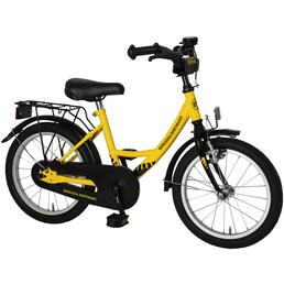 Kinderfahrrad »Fanbike«, 1 Gang, Wave-Type Rahmen, Gelb-Schwarz