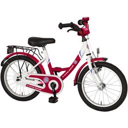 Kinderfahrrad »Fanbike«, 1 Gang, Wave-Type Rahmen, Weiß-Rot
