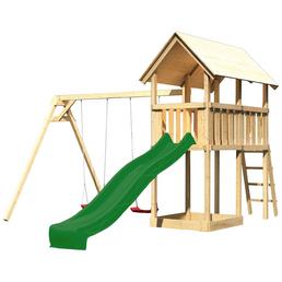 AKUBI Kinderspielanlage »Danny«, B x T x H: 137  x 209  x 291  cm